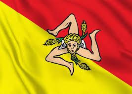 Флаг о. Сицилия