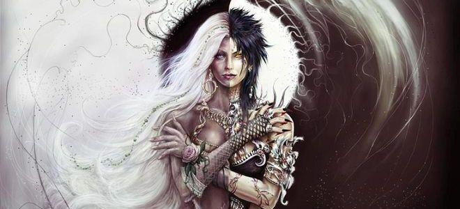 Черное и белое - стихи о магии